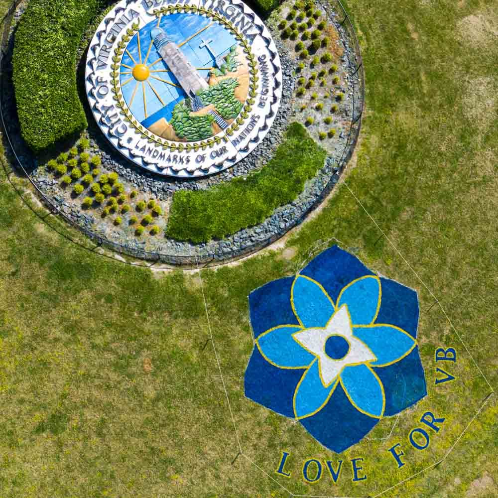 Love For VB Mount Trashmore Arial 1