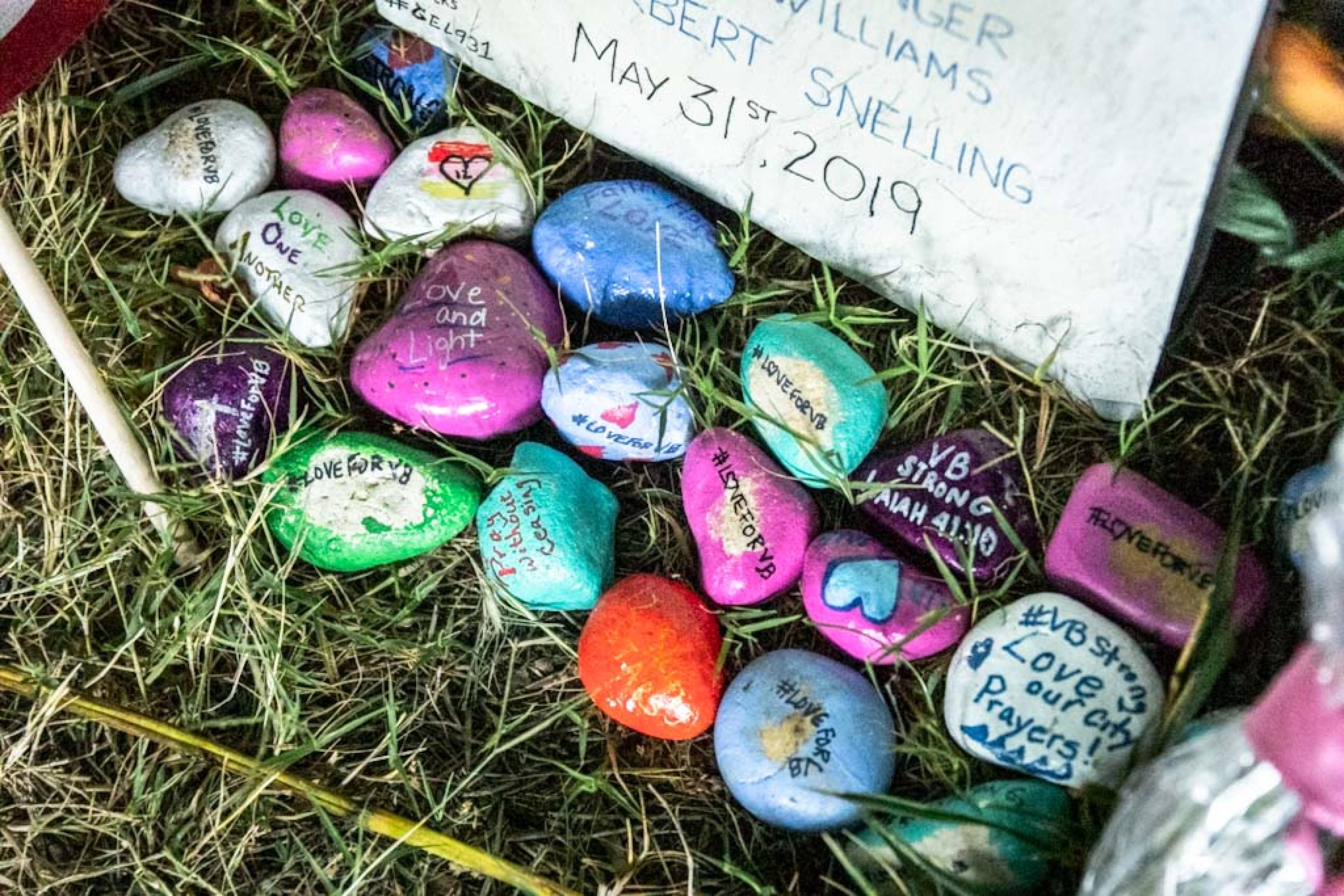 rocks at memorial